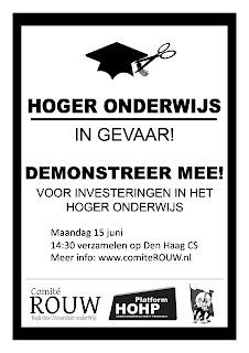 Poster demonstratie