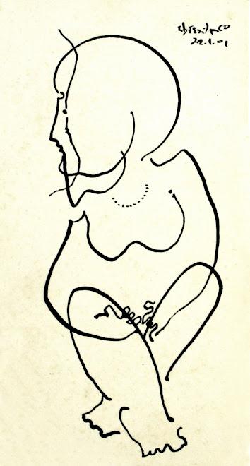 desenho em nankin