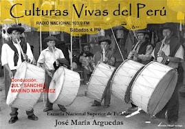 CULTURAS VIVAS DEL PERÚ: voz y presencia de los artistas populares.Radio Nacional -Lima