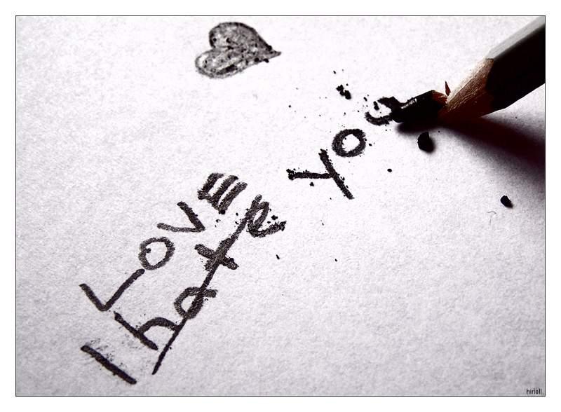 corazones rotos de amor. Si ya
