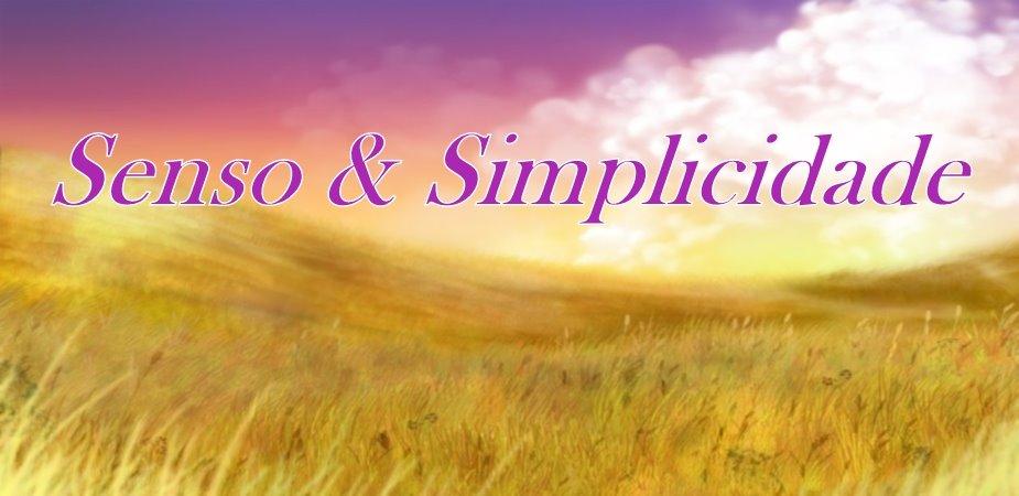 Senso & Simplicidade