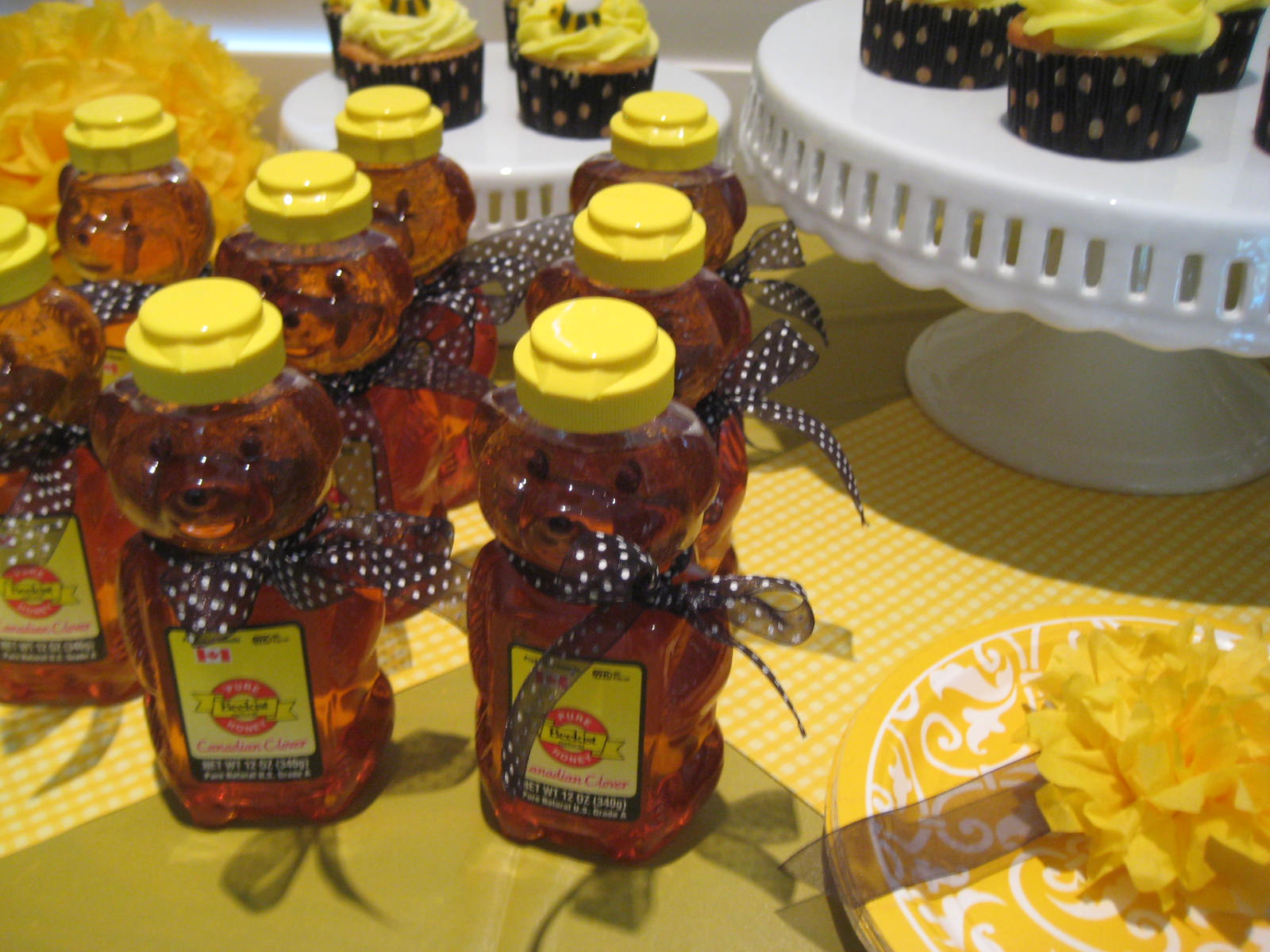 Honey Bears For The Guests To Take Home