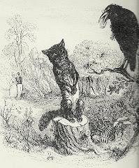 El zorro y el cuervo (con el queso)