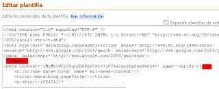 Verificar blog en google sitemaps