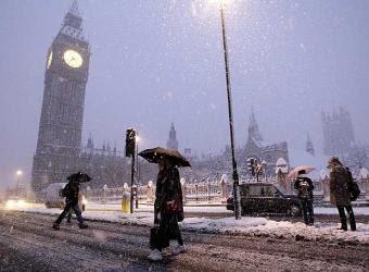 Tormenta en Londres