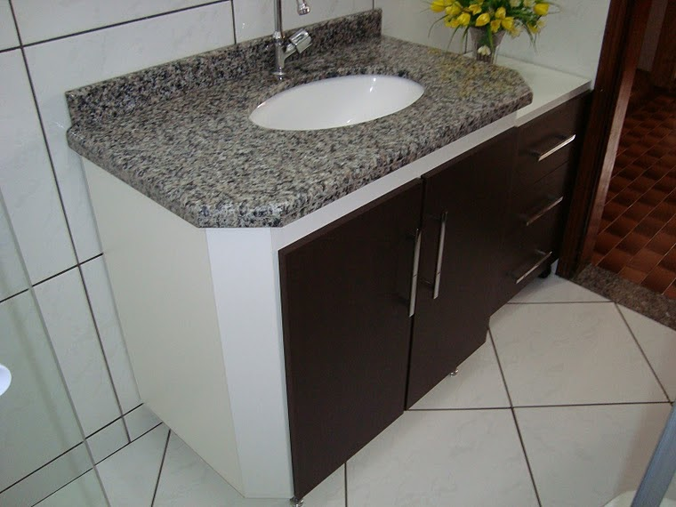 Gabinete Para Banheiro Gabinetes para banheiro telha norte # Cuba De Vidro Para Banheiro Telha Norte