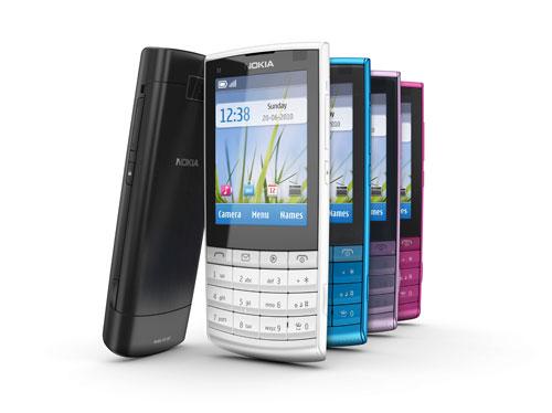 entry level touchscreen unik terbaru yaitu Nokia X3 Touch And Type ...
