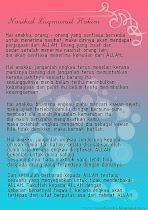 Nasihat LuqmaNul Hakim