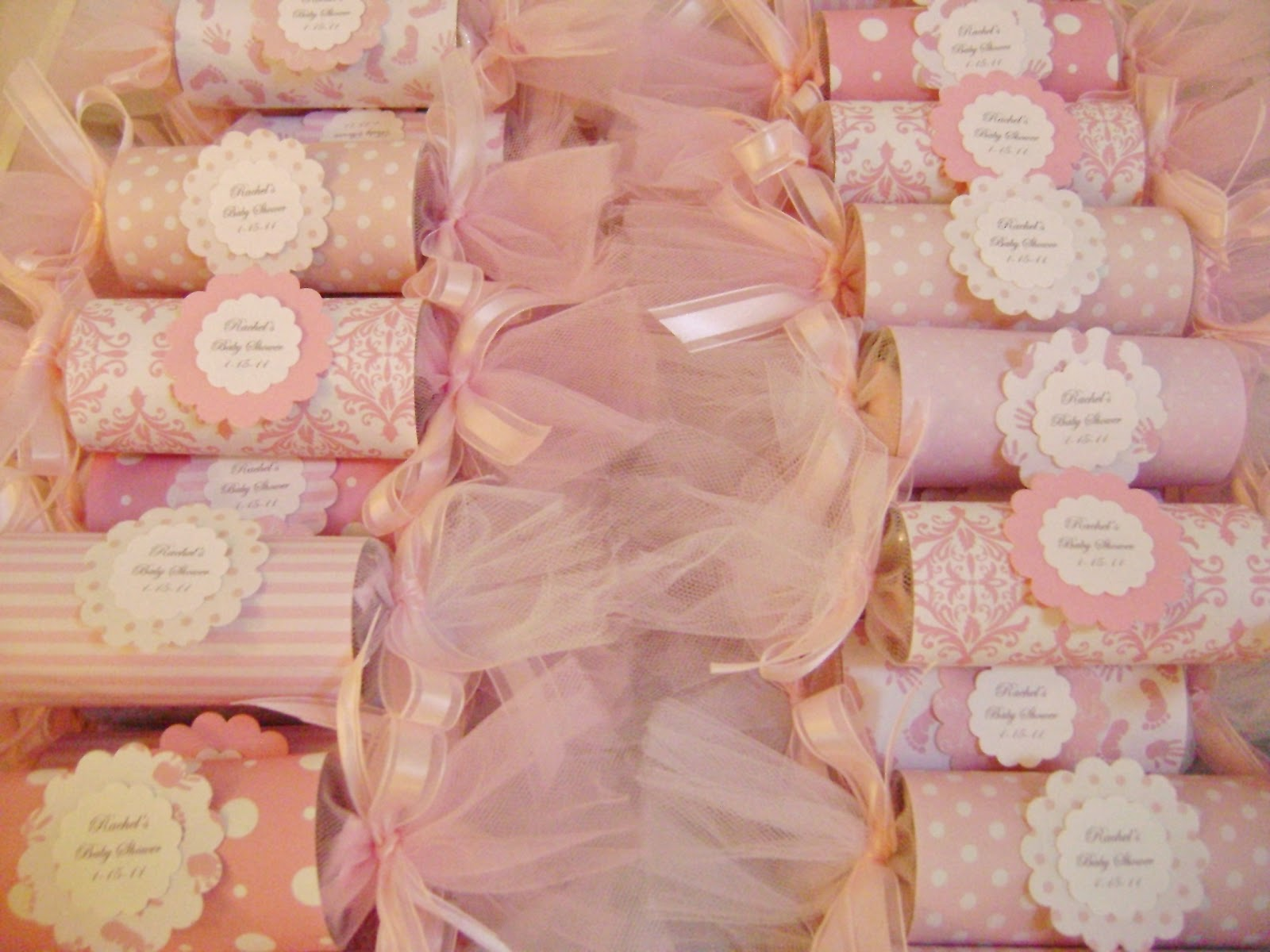 Pinterest Pin: Baby Shower Decoration For Girls