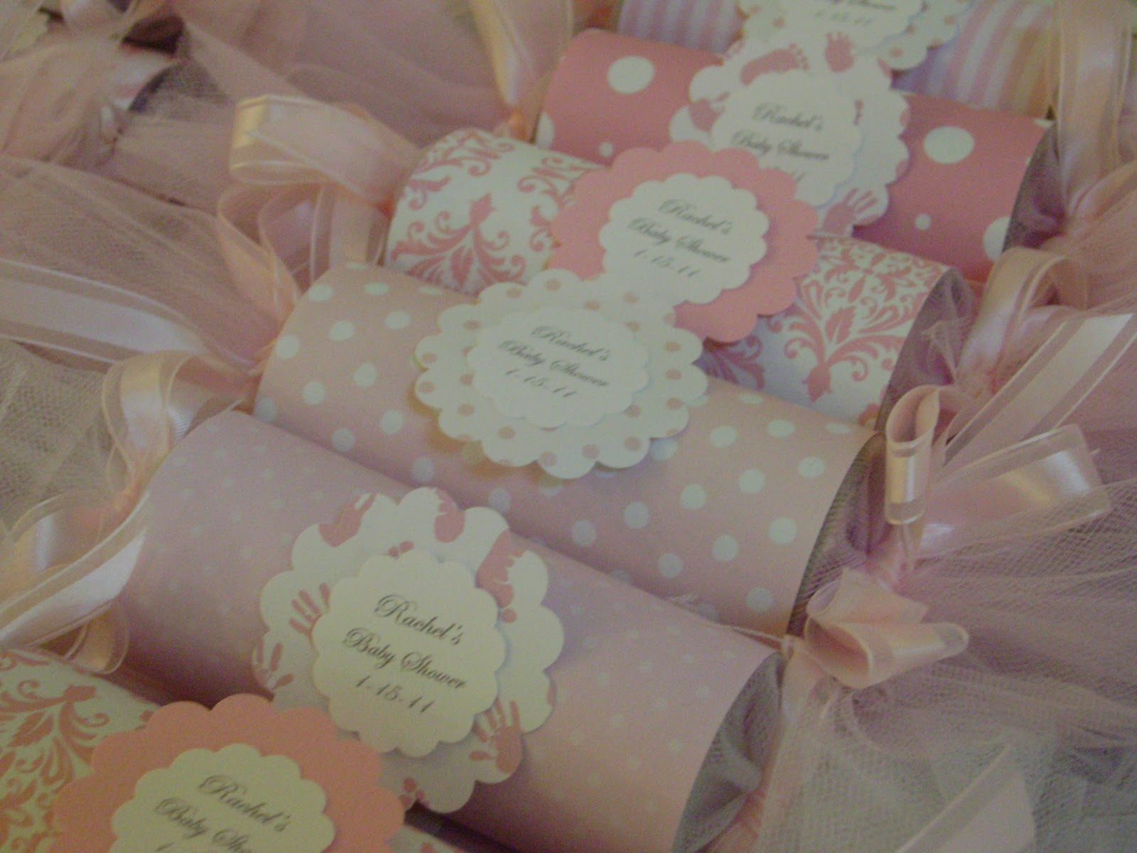 Pink Baby Shower Decorations Ideas