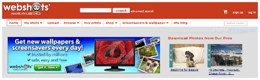 Compartir Fotografías en Línea - Webshots - menteprincipiante.com