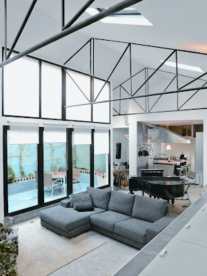 Loft in Madrid Design interior Classic