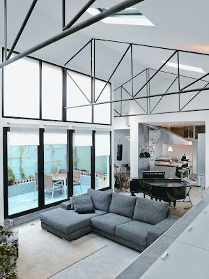Loft in Madrid Design interior Classic