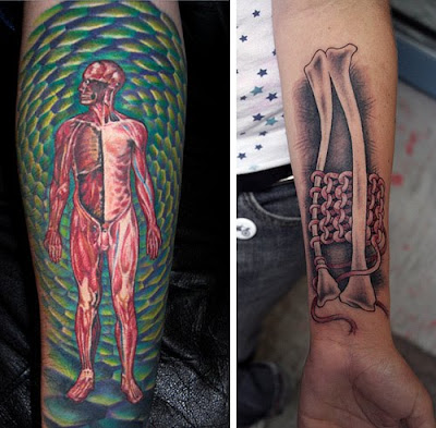 Amazing Anatomy Tattoos Crazy Pics
