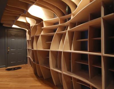Creative And Unusual Bookshelves Things