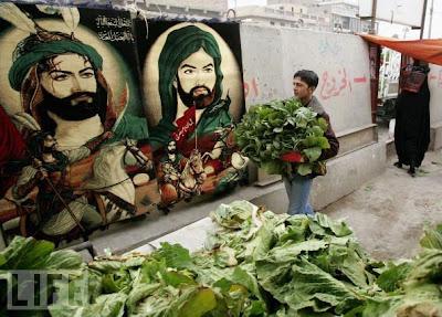 nazir Iraq. Islam. Market. Muharram