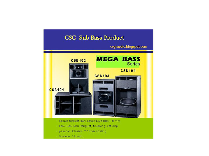 csg mega bass