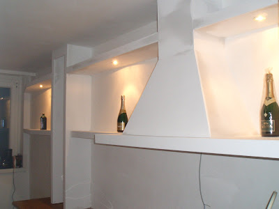 heimwerker k che aus rigips s dl ndischer art. Black Bedroom Furniture Sets. Home Design Ideas