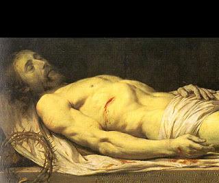 body of Christ dead