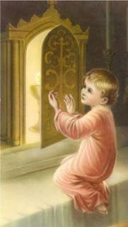 Child Eucharist