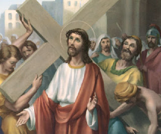 Jesus Carrying His Cross