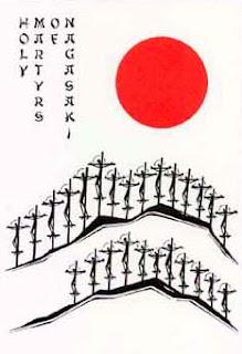 Holy Card Nagasaki Martyrs