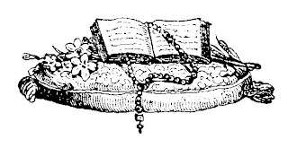 Rosary and Holy Bible