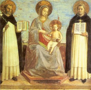 Madonna and Child and Saints