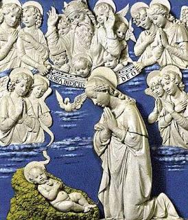 A Della Robbia Nativity