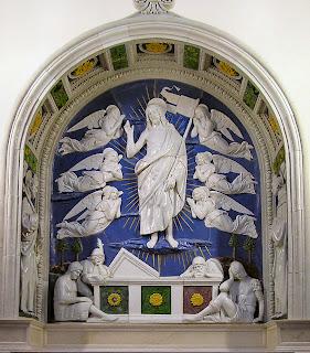 A Della Robbia The Resurrection