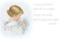 Praying Child ecg