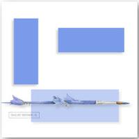 Blue Art Deco ecg