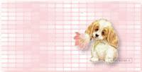 Dog Pink Flower ecgb