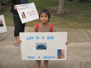 Pro-life Children