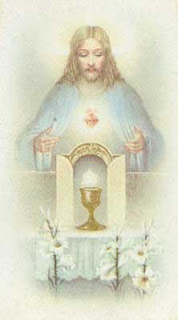 Jesus in the Blessed Sacrament