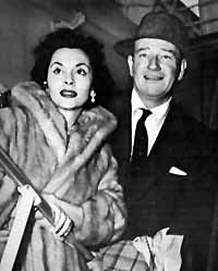 Pilar and John Wayne