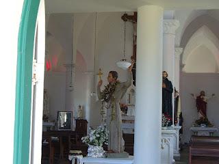 Bl. Damien at St. Francis