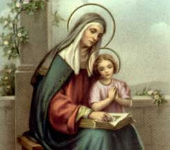 St. Anne and Mary