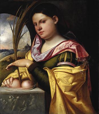 ST. AGATHA, A disciple of St Lioba