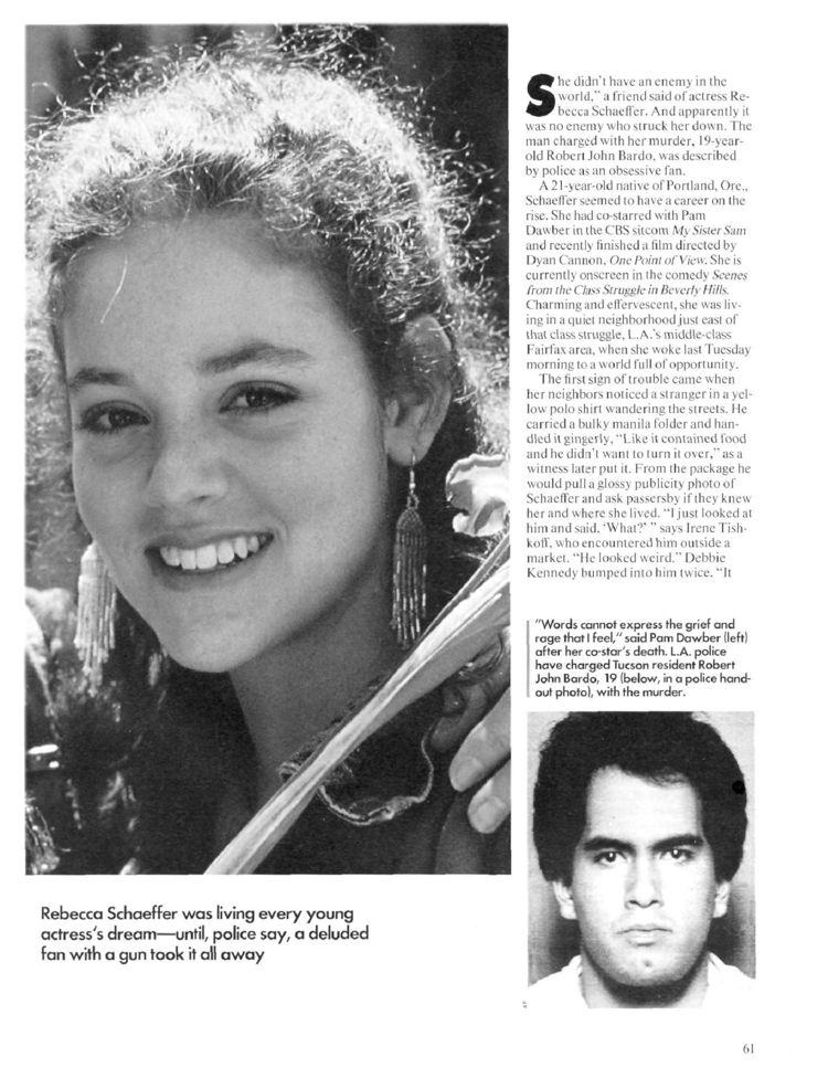 an introduction to the life of rebecca schaeffer