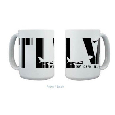 Tel Aviv mug from Air Wear