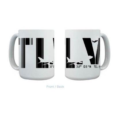 Tel Aviv mug from Air Wear