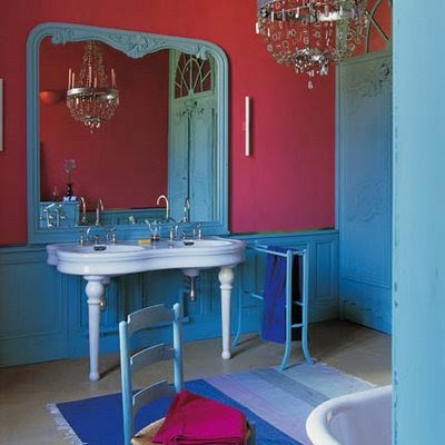 Isnt this the most beautiful bathroom you have ever seen? I adore ...
