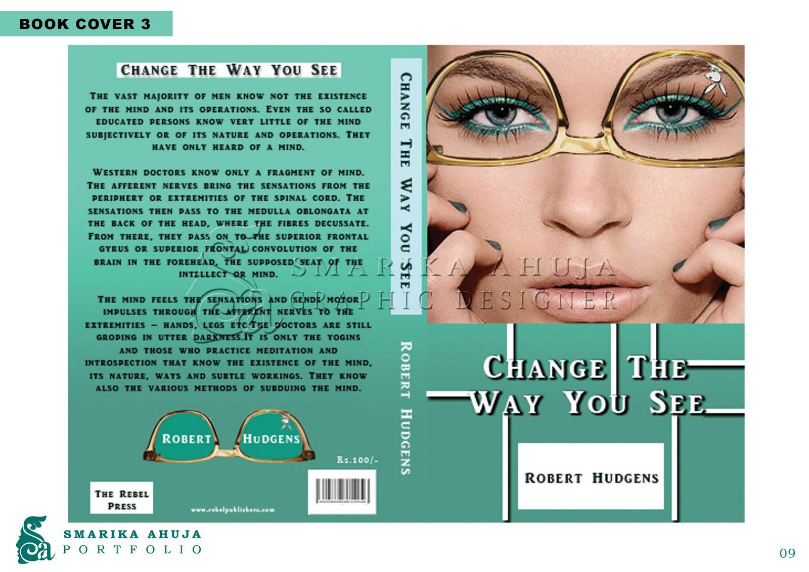 Graphic Design Portfolio Book Cover