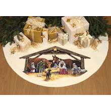 Nativity Tree Skirt