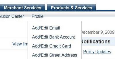 ka paypal registret kreditkarti