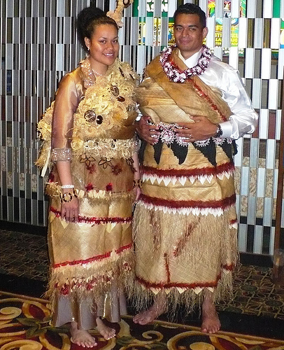 Samoan Wedding Dress