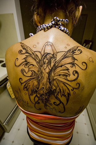 female back tattoos