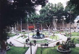 PLAZA DE ARMAS MOQUEGUA