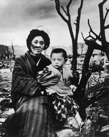 a geography of hiroshima - hiroshima on august 6, 1945 the nuclear weapon little boy was dropped on hiroshima by enola gay, a us air force b-29 bomber which was designed exclusively to hold the bomb, killing an estimated 80,000 people and seriously damaging 80% of the city.